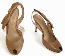 SONIA RYKIEL  Escarpins talons 10.5 cm cuir marron 38.5 / 395 € EXCELLENT ETAT