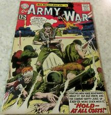 Our Army at War 125, (FN+ 6.5) 1962 Kubert art! 40% off Guide!
