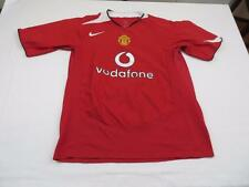 Mint Mens Manchester United Vodafone Soccer Futbol Athletic Jersey Shirt Sz M L