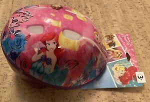 Disney Princess Purple Glitter Age 3+ Toddler Bicycle Multi Use Helmet