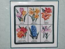 It's Polite to Point Needlepoint Kit Spring Botanical Flowers Crocus Iris Tulips