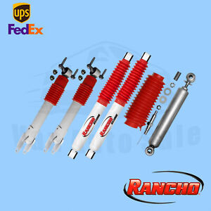 "2011-2018 Chevrolet Silverado 2500 HD Rancho 1-2""Lift Shocks & Stabilizer"