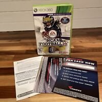 NCAA Football 14 (Xbox 360, 2013) Fanatics Complete With Inserts Free Shipping