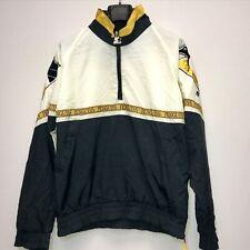 Vintage Pittsburgh Penguins Starter Nylon Pullover Windbreaker Bomber Jacket L