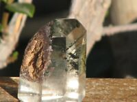 Polished Clear Quartz Crystal Point With Inclusions - Omni New Age