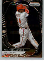 2020 Panini Prizm #140 Aristides Aquino NM-MT Cincinnati Reds Rookie Card ID:996
