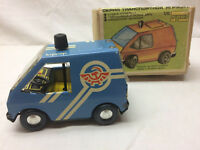 Vintage Russian Tin Friction Toy Car By Kypbep Original Box