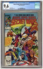 Marvel Super Heroes Secret Wars #1 (CGC 9.6) White pages; Marvel; 1984 (j#6369)