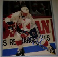READ!! WAYNE GRETZKY HOF SIGNED AUTOGRAPHED TEAM CANADA CUP  8 X 10 PHOTO NO COA