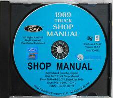1969 Ford Truck Shop Manual (CD-ROM)