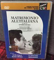 Matrimonio All'Italiana DVD Editoriale V. De Sica Mastroianni Loren Come Foto N