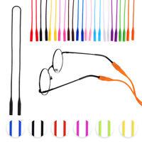 1x Elastic Silicone Sunglasses Glasses Eyeglasses-Neck Cords Chain Holder String