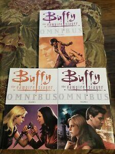 Buffy the Vampire Slayer omnibus 4,5,6!