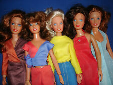 4 DARCI Cover Girl & 1 ERICA Fashion Doll Lot & Clothing Kenner 1979-1981