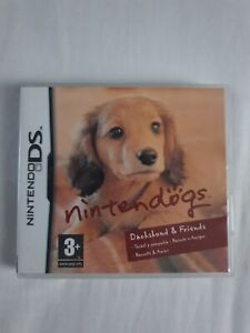 Nintendogs: Dachshund and Friends - Nintendo DS - Complete with Manual