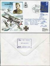 HA39b Major L.G. Hawker Signed by Pilot and Crew