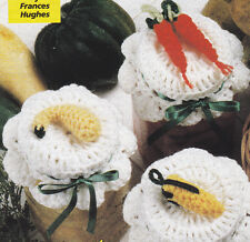 Crochet Pattern ~ VEGGIE Jar Covers ~ Instructions