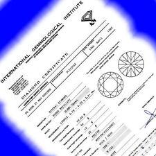 Naturdiamanten mit VVS1 Reinheit und IGI Zertifizierung/Bewertung
