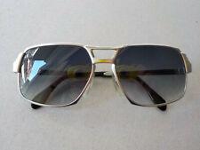 METZLER 2855 VINTAGE FRAME SUNGLASSES SILVER AVIATOR 80s oldschool eyewear new