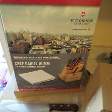 Victorinox Chef Daniel Humm kitchen knife set (lot#12068)