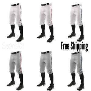 Champro Knicker Triple Crown Youth Baseball Pant with Braid Piping Short Pants