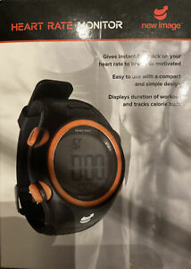 Mens And Ladies Running Heart Rate Monitor Watch with Chest Strap NEW New Image