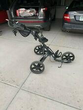 Clicgear Cgc351-Cblk 3.5+ Golf Push Cart - Charcoal/Black
