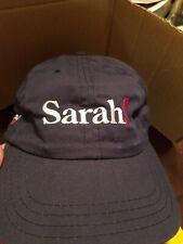 2008 Sarah Palin Presidential Election Official Navy Blue Hat John McCain