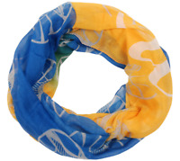 NBA Golden State Warriors Womens' Polyester Infinity Scarf