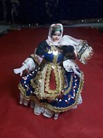 "Greek Souvenir International Doll. 7"" Tall Circa 1960."