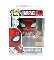 Funko Marvel Spider Man w/ Pizza 672 Boxlunch Exclusive + POP PROTECTOR CASE