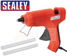 Sealey 240v Hot Melt Trigger Adhesive Glue Gun Hobby Craft Diy + Sticks AK292