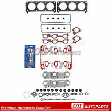 GM 3.1L 189 3.4L 207 Graphite Head Gasket Set w/Upgraded Intake Manifold Gasket