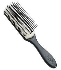 Denman D3N MEDIO NERO, BIANCO Parrucchiere SALON 7 RIGA Nylon Styling Spazzola per capelli