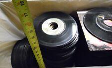 Approximately 375 45rpm Vinyl Records No Sleeve Elvis Stones Mccartney Asia