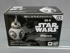 SH S.H. Figuarts Last Jedi Astromech Unit Droid BB-8 Bandai Japan NEW