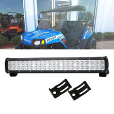 "20"" LED 126W Light Bar Lamp For Polaris Ranger offroad ATV RZR Sportsman 170"