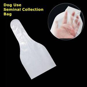 100Pcs Disposable Canine Insemination Dog Semen Collection Cone Sheath Bag