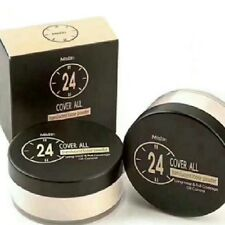 24 Cover All Translucent Loose Powder Mistine LongWear Oil Control Full Coverage