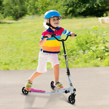 Homcom 3 roues enfant Scooter Pliable Speeder Winged Push Motion Tri curseur