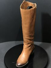 Sam Edelman Penny Whiskey Lea Leather Tall Knee High Riding Boots Size US 8 M