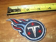 NFL Tennessee Titans 3 X 2 Inch Iron On Patch Nice!