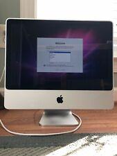 "Apple iMac A1225 20"" Desktop - 2.4GH processor, 1680x1050 display screen"