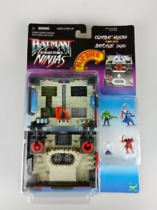 Batman Knight Force Ninjas COMBAT ARENA BATCAVE DOJO Micro Vintage 1998 90's NEW
