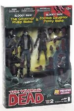 McFarlane The Walking Dead Bloody Black and White The Governor and Penny 2 Pack