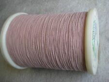 Litz wire 175/46 for Amateur & Crystal Radio coil, Single layer insulation, 100'