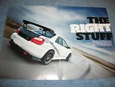 2006 Subaru Impreza WRX Article 'The Right Stuff'