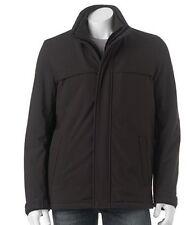 DOCKERS Men Sz S Quilt Lined Open-Bottom Soft Shell Jacket Coat NWT $200