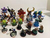 Lot Of 25 Skylanders Spyros Adventure Giants, Mini Team Tested Works