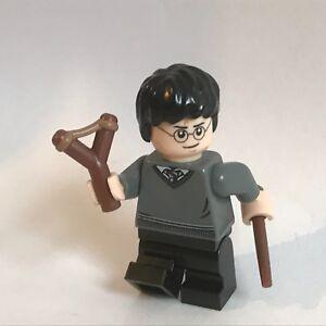 original LEGO Harry Potter parts HARRY POTTER + slingshot - new short legs